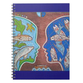 Vegan free fish note books