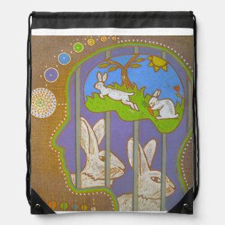 vegan free rabbit mochilas