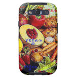 Vegan Fruits and Vegetables Galaxy SIII Cases