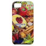 Vegan Fruits and Vegetables iPhone 5 Cases