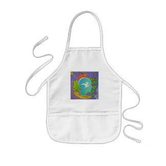 Vegan fruits kids' apron