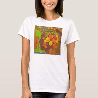 Vegan fruits monkey T-Shirt