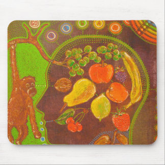 Vegan fruits mouse pad