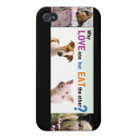 Vegan Gear Whats the difference? iPhone 4/4S Cases