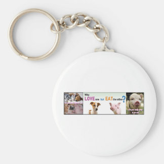 Vegan Gear Whats the difference? Keychain