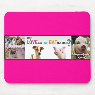 Vegan Gear Whats the difference? Mouse Pad