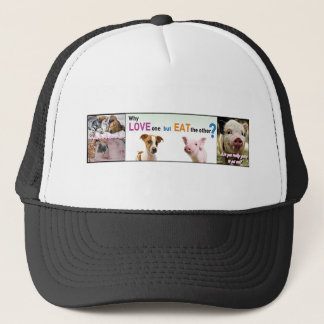 Vegan Gear Whats the difference? Trucker Hat