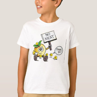 """Vegan Giftables """"Thank You"""" Color T-Shirt Youth XL"""