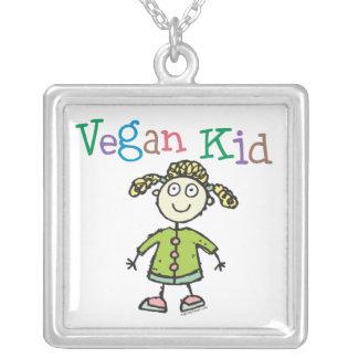 Vegan Girl Necklace