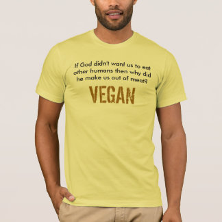 VEGAN God T-Shirt