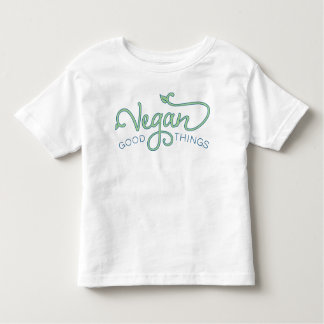 Vegan Good Things Logo Tee - Toddler