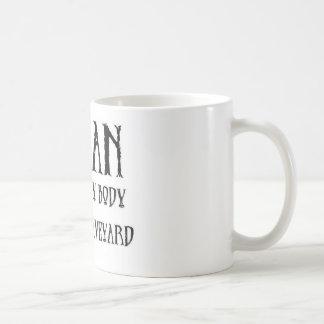 Vegan Graveyard Coffee Mug