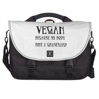Vegan Graveyard Computer Bag