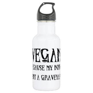 Vegan Graveyard 18oz Water Bottle