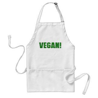 Vegan Green Stripes Apron