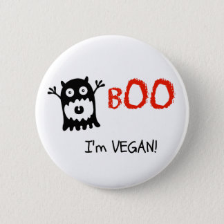 Vegan Halloween Button