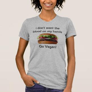 Vegan hamburger T-shirt