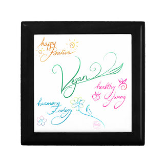 Vegan & happy lifestyle keepsake box
