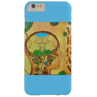 Vegan head barely there iPhone 6 plus case