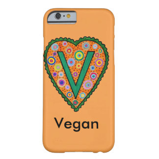 Vegan Heart Barely There iPhone 6 Case