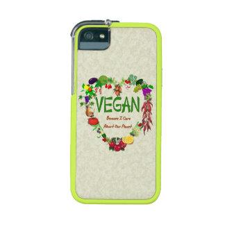 Vegan Heart iPhone 5 Covers