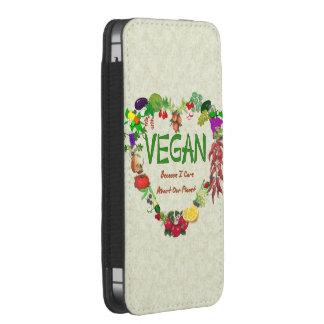Vegan Heart iPhone 5 Pouch