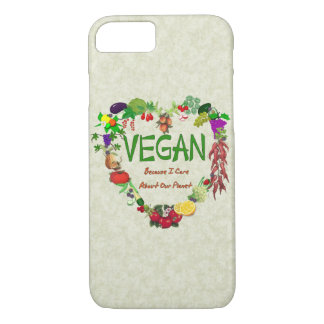Vegan Heart iPhone 8/7 Case