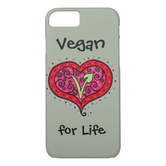 Vegan Heart iPhone 8/7 Case