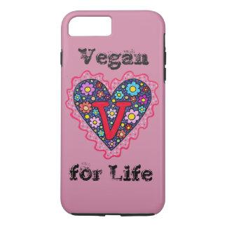 Vegan Heart iPhone 8 Plus/7 Plus Case