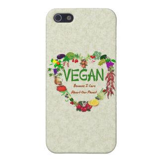 Vegan Heart iPhone 5 Cases