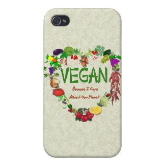 Vegan Heart iPhone 4 Cases