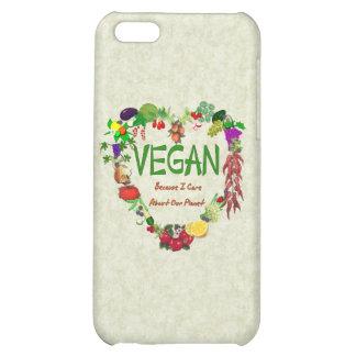 Vegan Heart iPhone 5C Covers