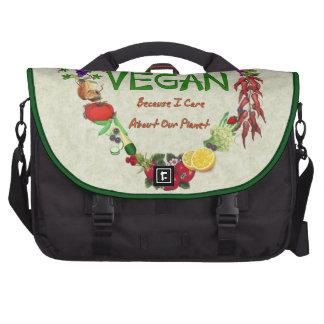 Vegan Heart Laptop Bag