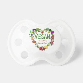 Vegan Heart BooginHead Pacifier