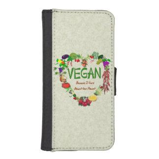 Vegan Heart iPhone 5 Wallet