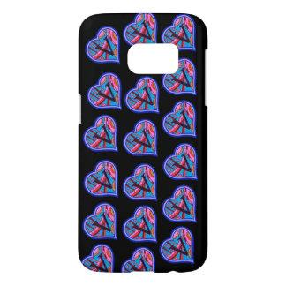 Vegan Heart Samsung Galaxy S7 Case