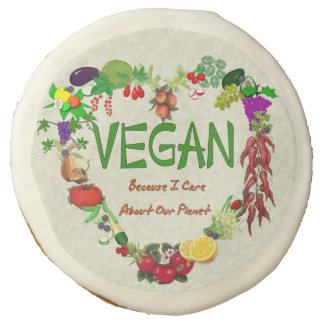 Vegan Heart Sugar Cookie