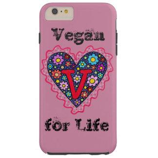 Vegan Heart Tough iPhone 6 Plus Case