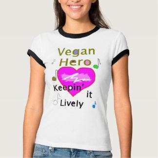 Vegan Hero Ladies Shirt