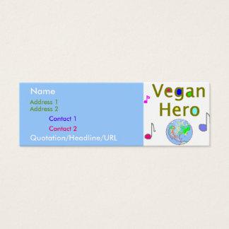 Vegan Hero Profile Card