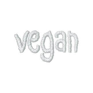 Vegan Hoodie - Embroidered back