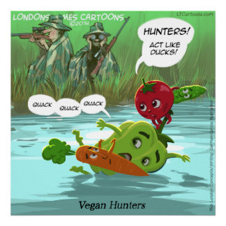 Jameson Winters ↟ Lone wolf looking for her pack Vegan_hunters_funny_quality_glossy_funny_poster-ra389976f50e143c9bb2bd0773df6aea9_aao9_8byvr_324