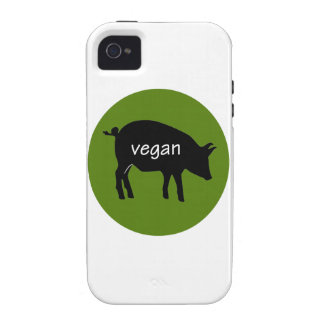 Vegan (in a pig design) vibe iPhone 4 covers