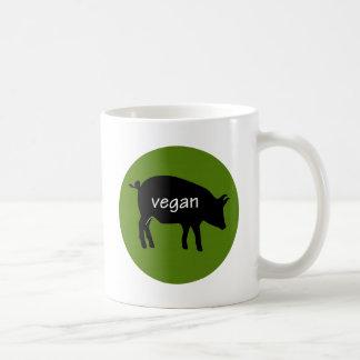 Vegan (in a pig design) coffee mug