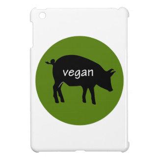 Vegan (in a pig design) iPad mini case