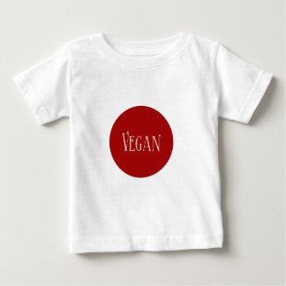 Vegan in a Red Circle Infant T-shirt