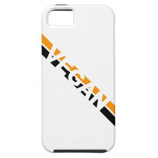 Vegan in Halloween Stripes iPhone SE/5/5s Case