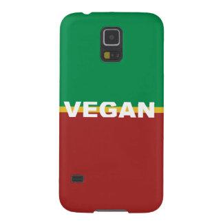 Vegan in Rasta Stripes Galaxy S5 Cover