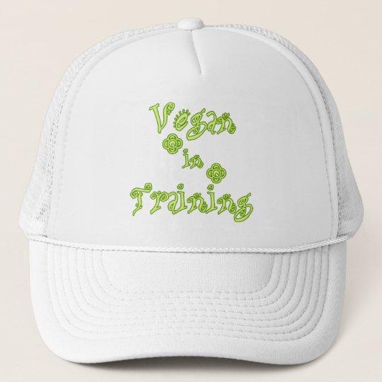 Vegan in Training Trucker Hat