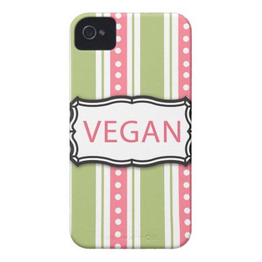 Vegan iPhone 4 Case-Mate Case